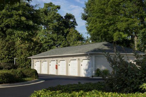 Garages at Camden Stockbridge Apartments in Stockbridge, GA