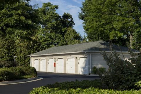 Garages at Camden Stockbridge Apartments in Stockbridge, GA