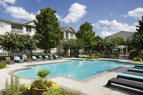 Pool at Camden Stockbridge Apartments in Stockbridge, GA
