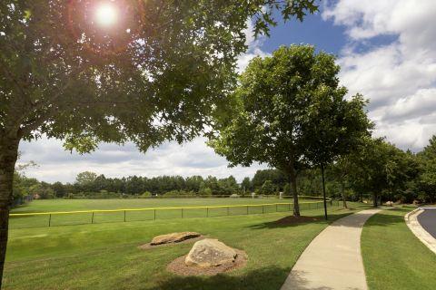 Sports Field at Camden Stockbridge Apartments in Stockbridge, GA