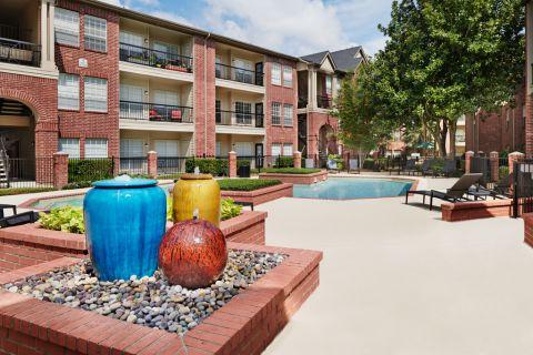 Pool at Camden Stonebridge Apartments in Houston, TX
