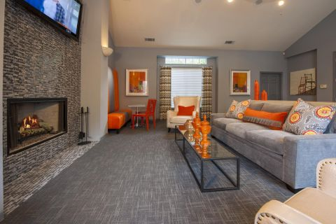 Resident Lounge at Camden Stonebridge Apartments in Houston, TX