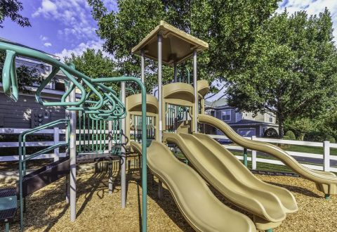 Private Playground at Camden Stonecrest Apartments in Charlotte, NC