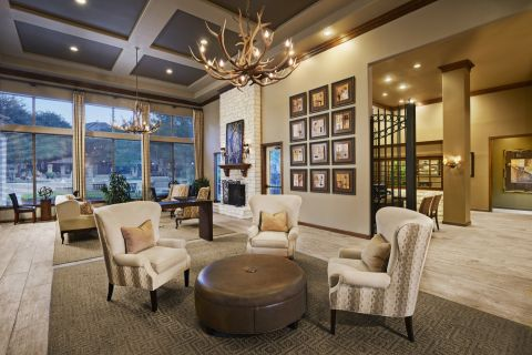 Welcome Center at Camden Stoneleigh Apartments in Austin, TX