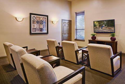 Movie Room at Camden Stoneleigh Apartments in Austin, TX