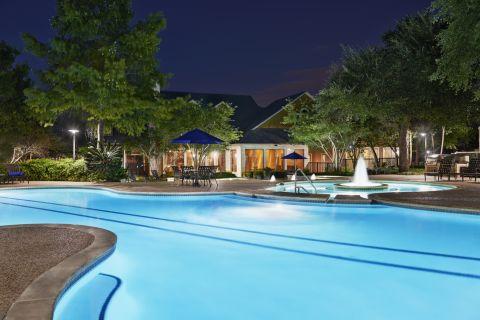 Pool at Camden Stoneleigh Apartments in Austin, TX