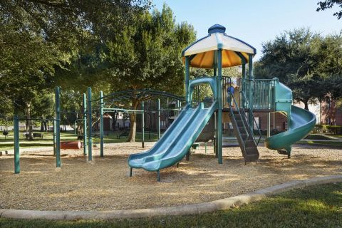 Playground at Camden Sugar Grove Apartments in Stafford, TX