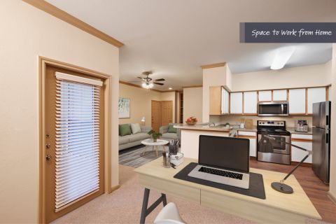 Space to Work From Home at Camden Sugar Grove Apartments in Stafford, TX