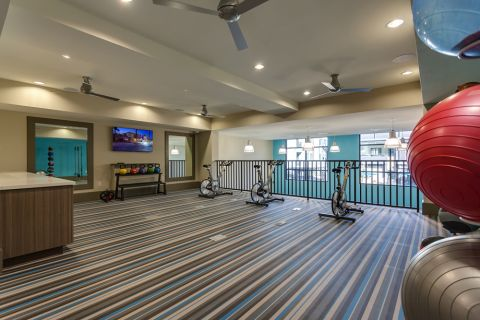 Cardion room at the fitness center at Camden Tempe Apartments in Tempe, AZ