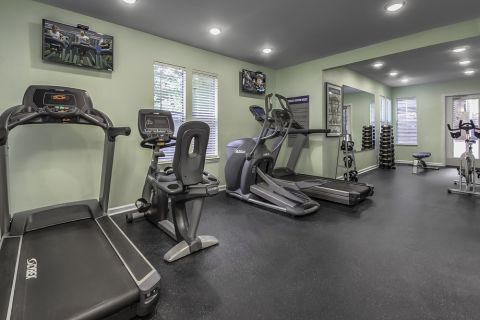 Fitness Center at Camden Touchstone Apartments in Charlotte, NC