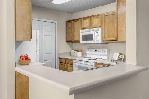 Kitchen at Camden Touchstone Apartments in Charlotte, NC