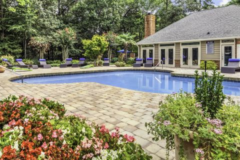 Pool at Camden Touchstone Apartments in Charlotte, NC