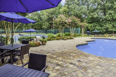 Swimming Pool at Camden Touchstone Apartments in Charlotte, NC