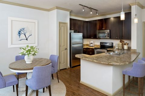 Kitchen at Camden Town Square Apartments in Kissimmee, FL