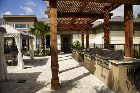 Grills at Camden Town Square Apartments in Kissimmee, FL
