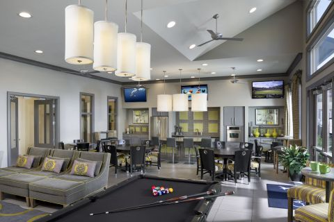 Resident Lounge at Camden Town Square Apartments in Kissimmee, FL