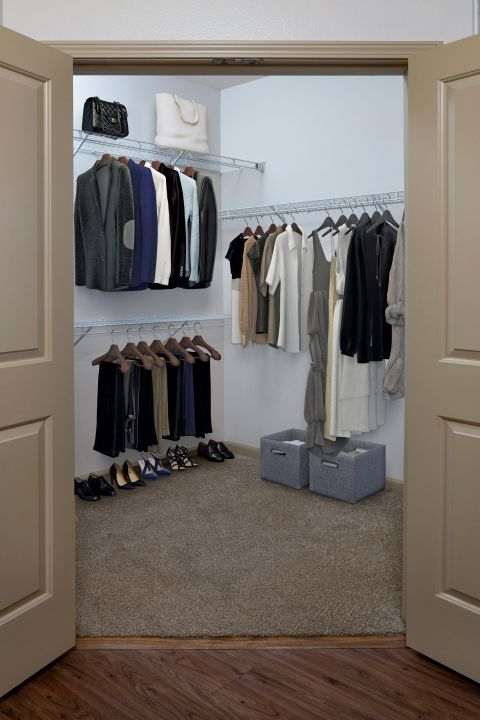 Walk In Closet at Camden Town Square Apartments in Kissimmee, FL