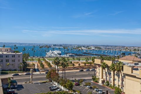 View of Marina at Camden Tuscany Apartments in San Diego, CA