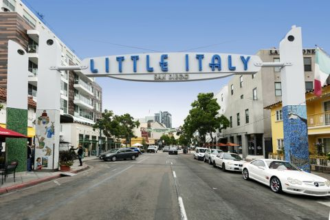 Little Italy near Camden Tuscany Apartments in San Diego, CA