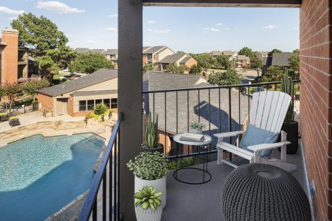 Outdoor Living Space at Camden Valley Park Apartments in Irving, TX