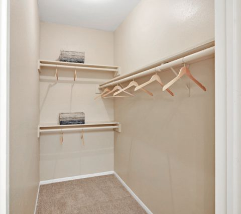 Closet at Camden Valley Park Apartments in Irving, TX