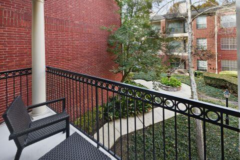 Balcony and Patio at Camden Vanderbilt Apartments in Houston, TX