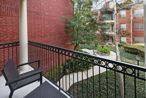 Balcony and Patio at Camden Vanderbilt Apartments in Houston, TX