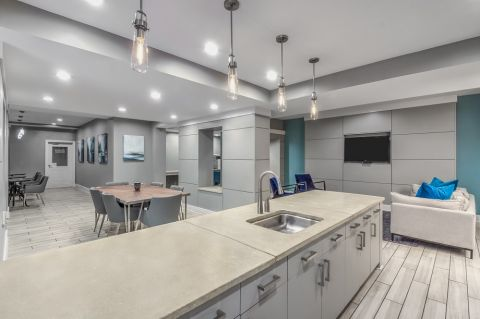 Renovated Clubhouse at Camden Vantage Apartments in Atlanta, GA