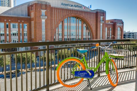 Katy Trail and Bike Path at Camden Victory Park Apartments in Dallas, TX