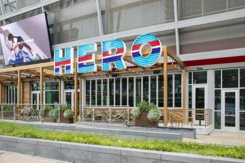 Hero restaurant near Camden Victory Park Apartments in Dallas, TX