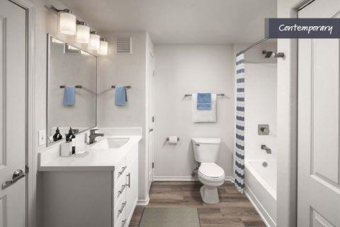 Bathroom at Camden Vineyards Apartments in Murrieta, CA