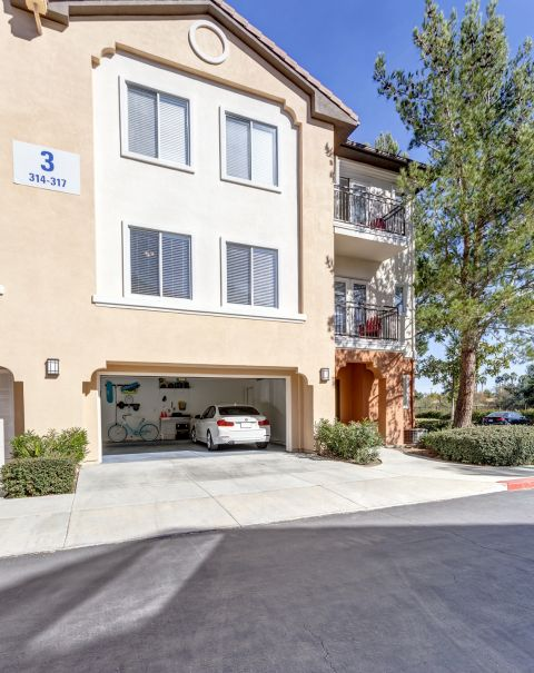 Two Car Garage at Camden Vineyards Apartments in Murrieta, CA