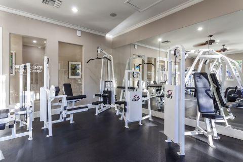 Fitness Center with Weight Training Equipment at Camden Vineyards Apartments in Murrieta, CA
