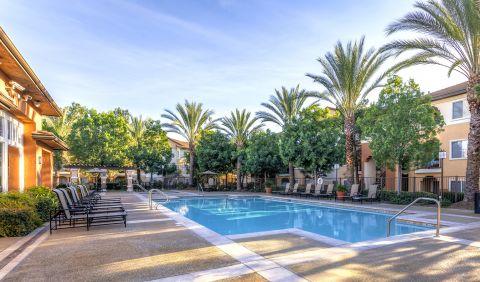Pool at Camden Vineyards Apartments in Murrieta, CA