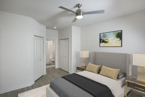 Bedroom at Camden Visconti Apartments in Brandon, FL