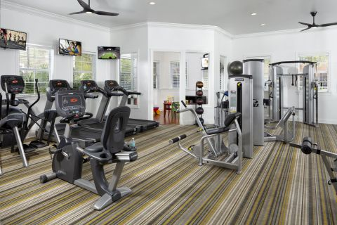 Fitness Center  at Camden Visconti Apartments in Brandon, FL