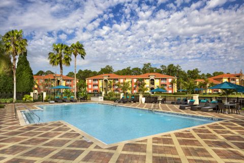 Pool at Camden Visconti Apartments in Brandon, FL