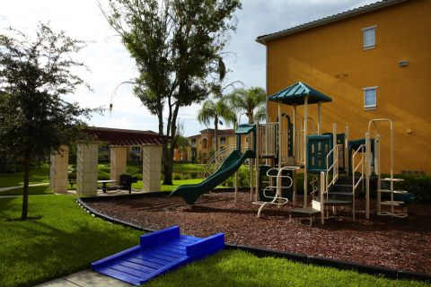 Playground at Camden Visconti Apartments in Brandon, FL