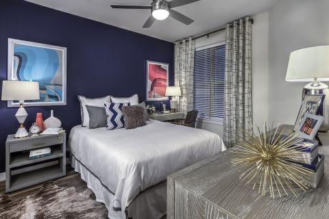 Bedroom at Camden Washingtonian Apartments in Gaithersburg, MD