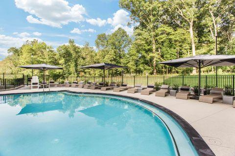 Pool at Camden Washingtonian Apartments in Gaithersburg, MD
