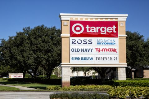 Neighborhood Target and TJ Maxx near Camden Waterford Lakes Apartments in Orlando Florida
