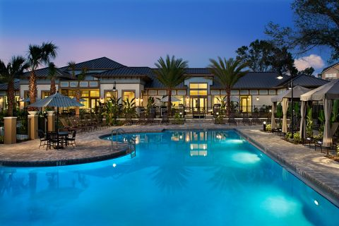 Pool at Camden Westchase Park Apartments in Tampa, FL