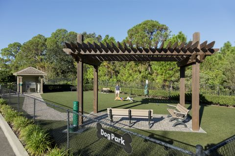 Dog Park at Camden Westchase Park Apartments in Tampa, FL