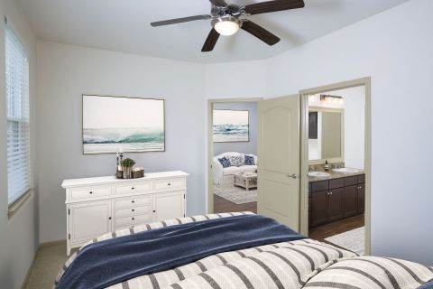 Bedroom at at Camden Westchase Park Apartments in Tampa, FL