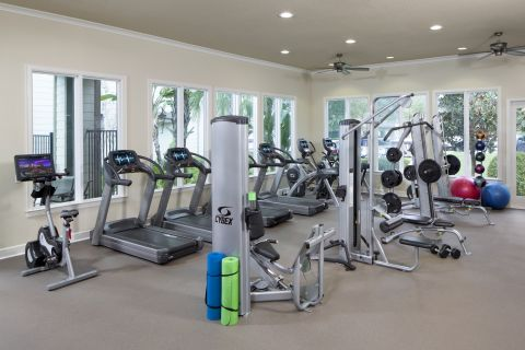 Fitness Center at Camden Westchase Park Apartments in Tampa, FL