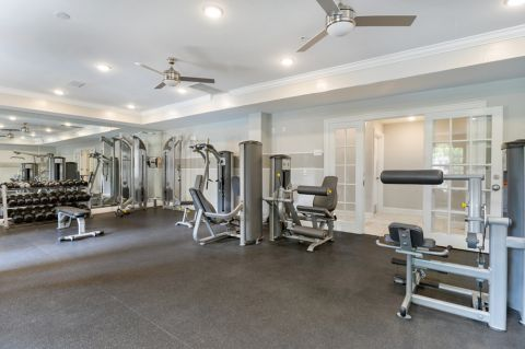 Fitness Center at Camden Westwood Apartments in Morrisville near Raleigh, NC
