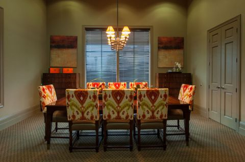 Conference Room at Camden Woodson Park Apartments in Houston, TX
