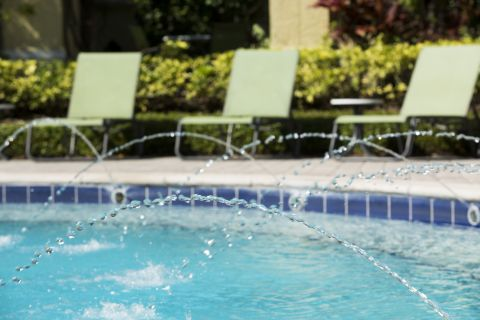 Pool at Camden World Gateway Apartments in Orlando, FL