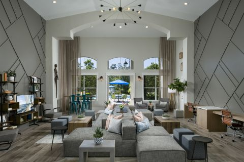 Resident Lounge at Camden World Gateway Apartments in Orlando, FL