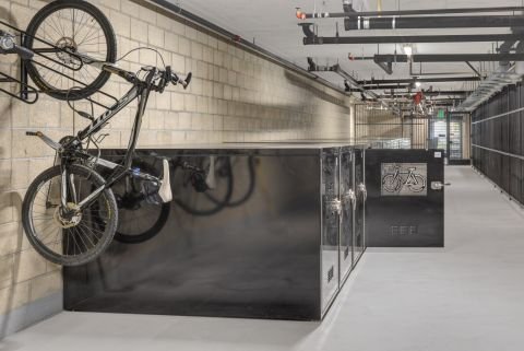 Bike Storage at The Camden Apartments in Hollywood, CA